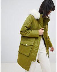 Parka London - Exclusive Aria Parka Coat - Lyst