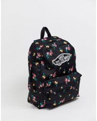da3c485805242 Vans Caravaner Backpack Fall Floral - Lyst