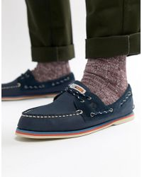 Sperry Top-Sider - Topsider Nautical Boat Shoes In Navy - Lyst