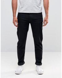 Lee Jeans - Arvin Tapered Jeans Black Cap - Lyst