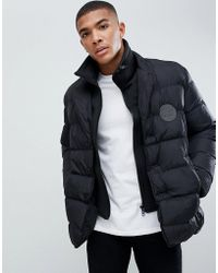 Love Moschino - Double Layer Look Puffer Jacket - Lyst