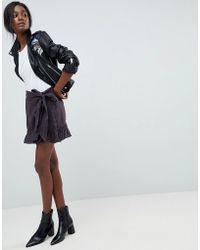 Blank NYC - Festival Ruffle Tie Skirt - Lyst