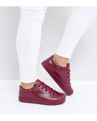 Monki - Lace Up Trainer - Lyst