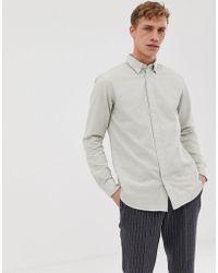 SELECTED Regular Fit Brushed Cotton Shirt