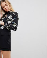 Girls On Film - Floral Shirt - Lyst