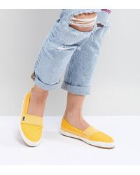 Lacoste - Maurice 218 Slip On Espadrille In Yellow - Lyst