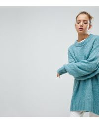 Weekday - Oversized Boiled Wool Sweater - Lyst