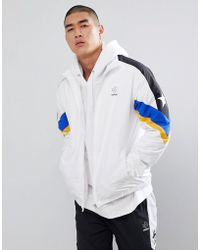 Converse - Colour Block Track Jacket In White 10006473-a01 - Lyst