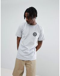 Brixton - Prowler T-shirt With Logo - Lyst