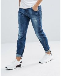 G-Star RAW - Arc 3d Slim Jeans With Abraisons Midwash - Lyst