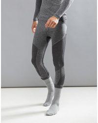 O'neill Sportswear - Activewear Seamless Tights Baselayer Hyperdry In Black Marl - Lyst