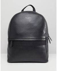 Ted Baker - Rickrack Backpack In Leather - Lyst