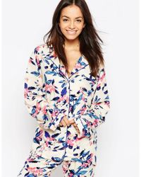 MINKPINK - Secret Forest Pyjama Shirt - Lyst