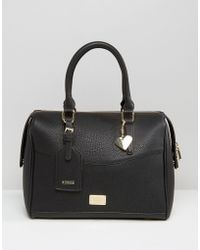 Marc B. - Classic Structured Bowler Tote Bag - Lyst