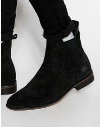 Bellfield - Suede Chelsea Boots - Lyst