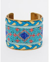 Raga - Beaded Cuff - Lyst