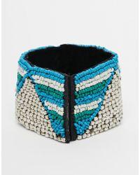 Raga - Zig Zag Beaded Bracelet - Lyst