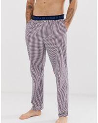Ben Sherman Woven Dalton Lounge Pants - Purple