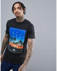 Quiksilver - Salina Stars T-shirt In Black - Lyst