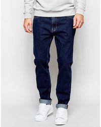 ADPT - Dpt Rinse Wash Jeans In Slim Anti Fit - Lyst