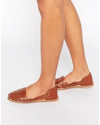 f5c8a9fc635d36 Lyst - Shop Women s London Rebel Flats from  33 - Page 3