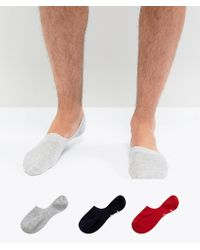 Pringle of Scotland - Invisible Socks 3 Pack - Lyst