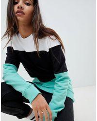 Criminal Damage - Colourblock Sweatshirt - Lyst