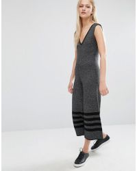 Native Youth | Wide Leg Knitted Jumpsuit | Lyst