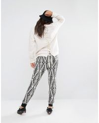Billabong - Joggers With Drawstring Waist In Abstract Design - Lyst