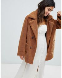 Moon River - Reversible Fleece Coat - Lyst
