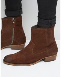 House Of Hounds - Hendrix Suede Boots - Lyst