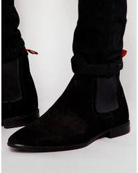 ASOS - Asos Chelsea Boots In Suede - Lyst