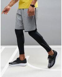 Saucony - Running Cityside Shorts In Grey Sa81309-dgh - Lyst