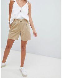 Vila - Chino Shorts - Lyst