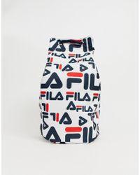 2c59f66f50 Fila Buster Shoulder Bag in Black for Men - Lyst