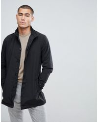 French Connection - Funnel Neck Trench Jacket - Lyst