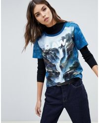 G-Star RAW - X Jaden Smith Force Of Nature Organic Cotton Waterfall T-shirt - Lyst