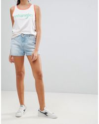 Wrangler - Retro Denim Short - Lyst