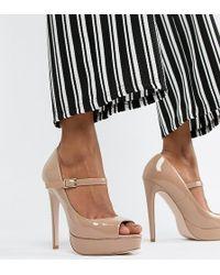 Miss Kg - Peep Toe Platforms - Lyst