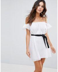 Little White Lies - Veronique Cold Shoulder Dress - Lyst