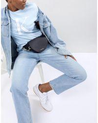 Calvin Klein - Structured Waist Bag With Chain Detail - Lyst