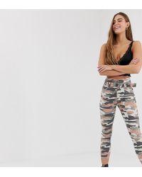 Bershka - Pantalon imprim camouflage - Lyst