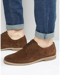 Red Tape - Derby Shoes - Brown - Lyst