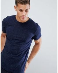 Jack & Jones - Originals T-shirt With Fleck Cotton - Lyst