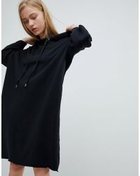 Dr. Denim - Jersey Dress With Hood - Lyst