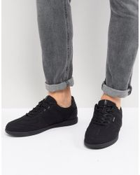 Jack & Jones - Trainers In Triple Black Mesh - Lyst