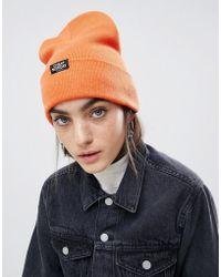 Cheap Monday - Beanie In Orange - Lyst