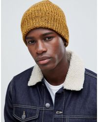 da9473ee446 New Look - Beanie In Yellow Marl - Lyst
