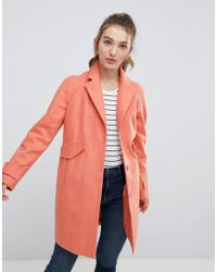 ASOS - Asos Pocket Detail Coat - Lyst