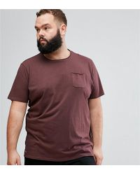 Tokyo Laundry - Plus Raw Edge Pocket T-shirt - Lyst